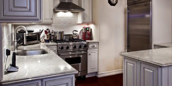 View into Kitchen – NYC Condo Reno