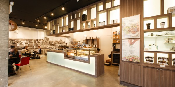 View of Sales Counter – FIKA