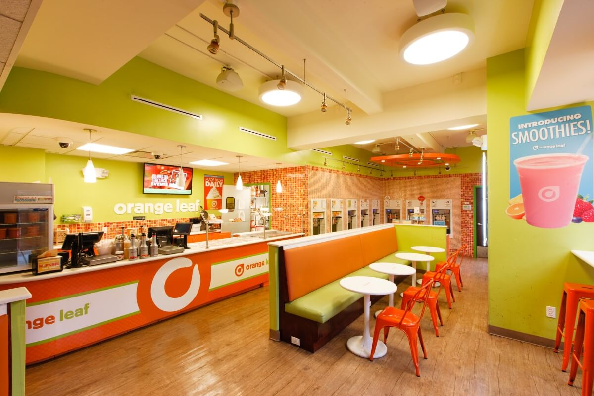 Orange Leaf Adams Street